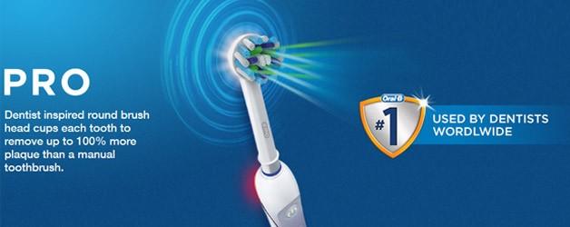 Electric tooth brush free trial cherry tree dental care blackburn