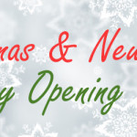 Christmas and New Year Opening Times 2016